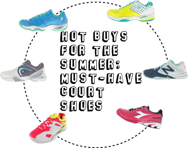 Hot Buys for the Summer: Must-Have Court Shoes