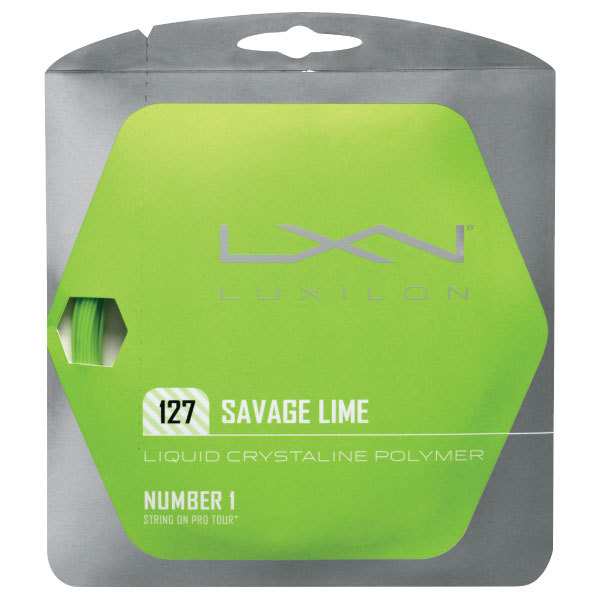 Luxilon Savage Lime String Review