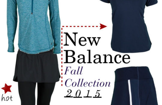 New Balance 2015 Fall Collection: Women's Tennis Apparel