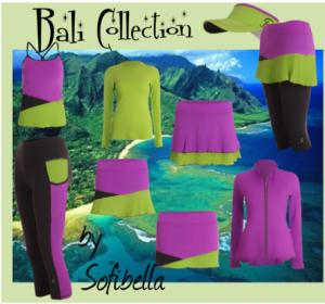 sofibella bali tennis clothing