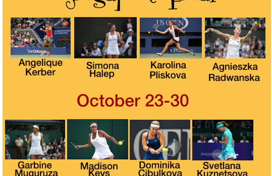 WTA Finals | Clash of the Racquets