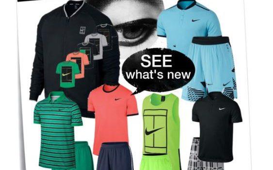 New Nike Tennis Clothing For Men
