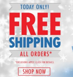 Free Shipping on Tennis Gear