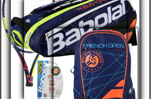 Be About It! Babolat French Open Bags