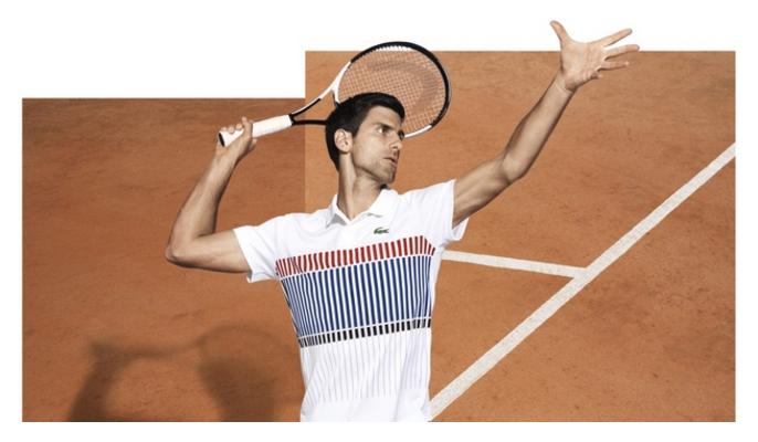 The Djoko-Switch: Novak goes to Lacoste Apparel