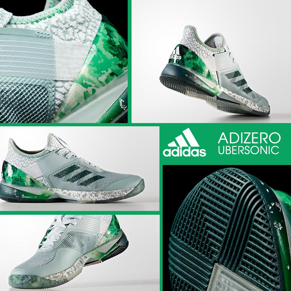 75ecb3eb NEW PRODUCT: adidas Adizero Ubersonic 3 Jade Tennis Shoe | Tennis ...