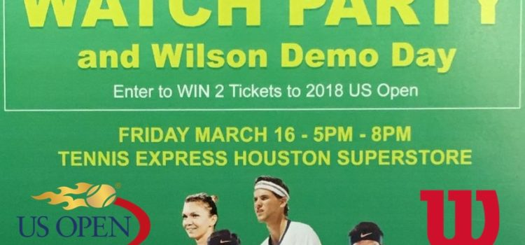 BNP Paribas Open Watch Party at Tennis Express Thumbnail
