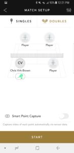Head Sensor App Compete Section Screenshot