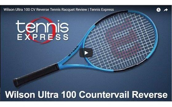 Wilson Ultra 100 CV Reverse Tennis Racquet Review | Tennis Express
