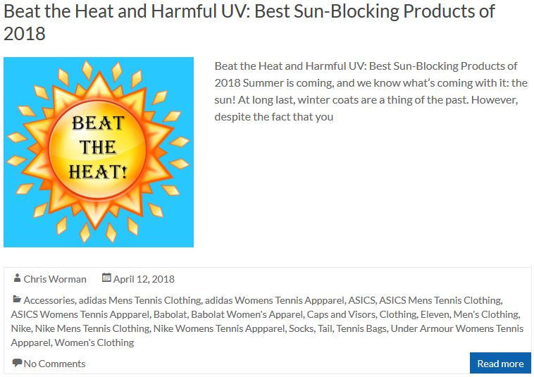 Beat the Heat and Harmful UV - Best Sun-Blocking Products of 2018
