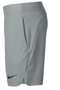 Boys Court Ace Tennis Shorts Gray