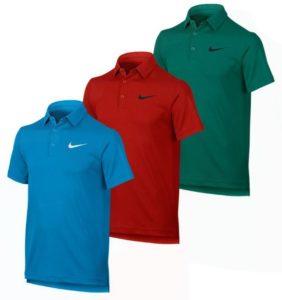 Boys Dry Tennis Polo