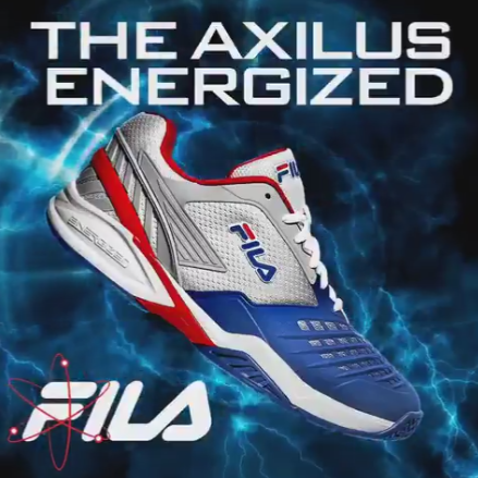 Top ATP and WTA Athletes Weigh In on the New FILA Axilus Energized