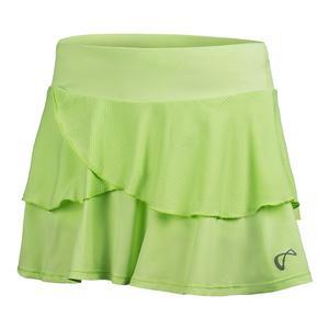 Girls Lime Green Tennis Skort