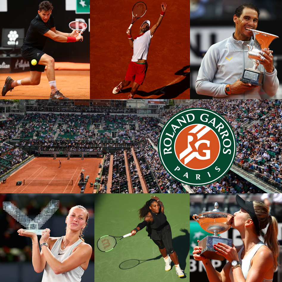 Top 5 Men and Women to Watch at the 2018 French Open