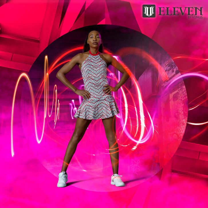 For The Fierce Female; Venus Williams' Sprint Collection