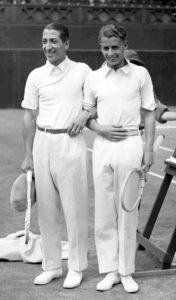Rene Lacoste and Henry Austin