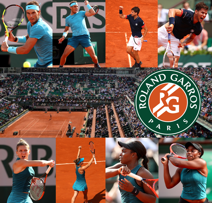 World #1s Nadal and Halep to Face Thiem and Stephens in French Open Finals Thumbnail