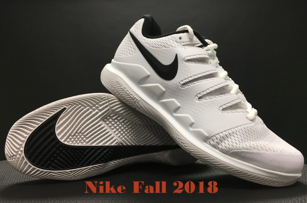 Nike Fall 2018 Tennis Shoes May Feature