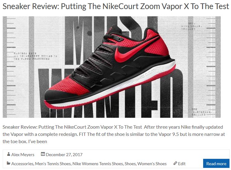 Putting the Nike Air Zoom Vapor X To The Test