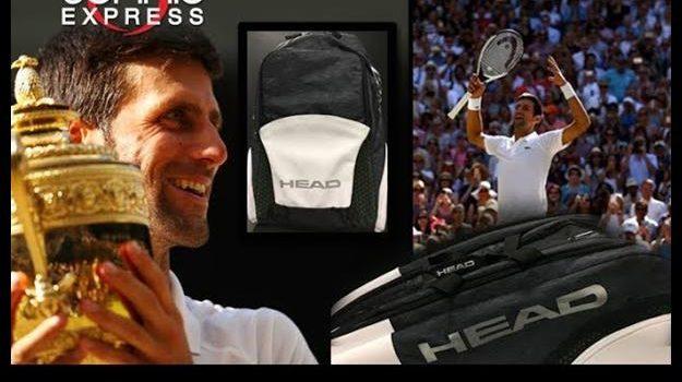 New HEAD Djokovic Tennis Bags