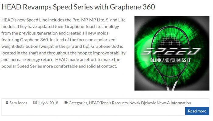 Head Speed Racquet Blog Thumbnail