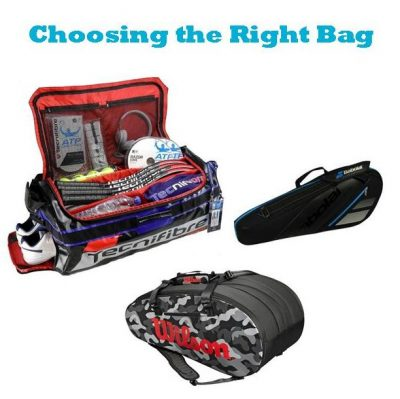 Choosing The Right Tennis Bag