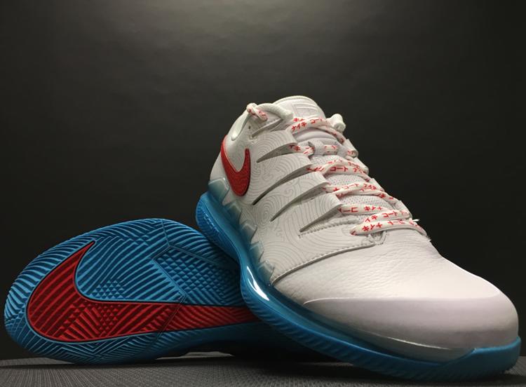 Nike Men's Kei Nishikori Vapor X Leather Tennis Shoe 2