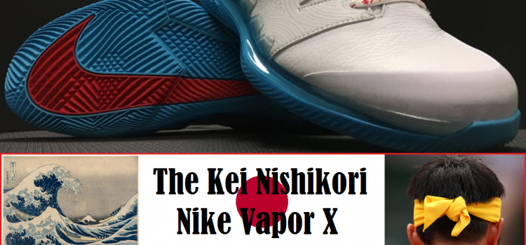 The Inspiration Behind Kei Nishikori's Nike Vapor X Tennis Shoe Thumbnail