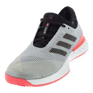 Adidas Men's Ubersonic 3 Matte Silver, Black and Pink