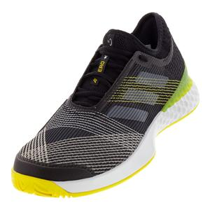 Adidas Men's Ubersonic 3 Black, White and Yellow