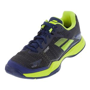Babolat Mens Jet Mach 2 Estate Blue and Yellow