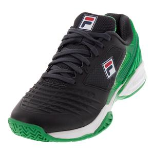 Fila Mens Axilus Energized Limited Edition Pro 1 Blue and Green