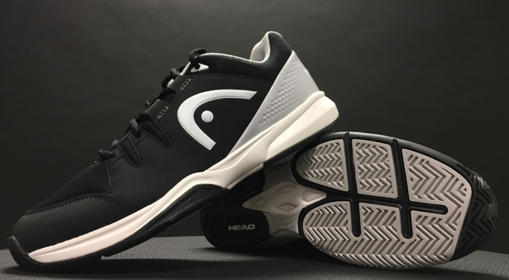 Men's Brazer Tennis Shoes in Black and White