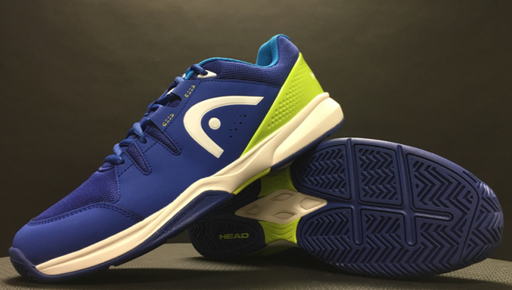 Men's Brazer Tennis Shoes in Blue and Green