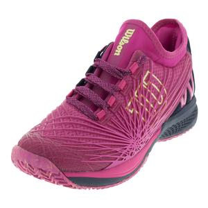 Wilson Womens Kaos 2.0 SFT Very Berry and Evening Blue