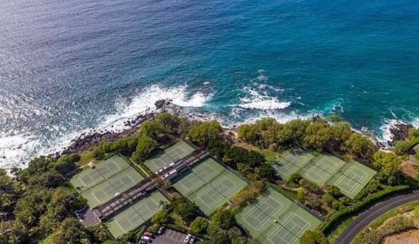 Mauna Kea Beach Hotel Tennis Courts