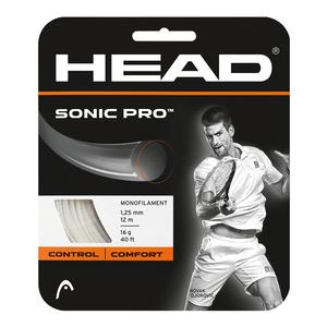 Head Sonic Pro 16G White Tennis String