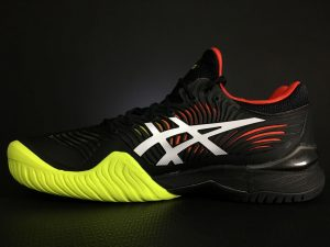 ASICS Men's Court FF 2 Tennis Shoe Medial Side