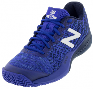 New Balance Men's 996v3 D Width Clay Tennis Shoes in UV Blue and Pigment