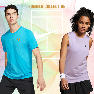 Nike Tennis Apparel 2019: Summer is Finally Here!