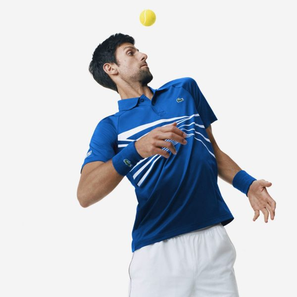 Djokovic and Lacoste Making Statements in New Tennis Apparel