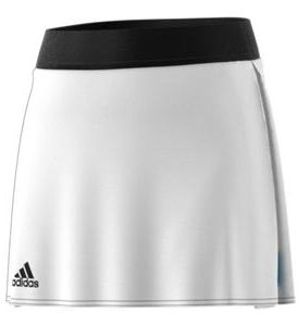 Adidas Girls Escouade Tennis Skirt in White