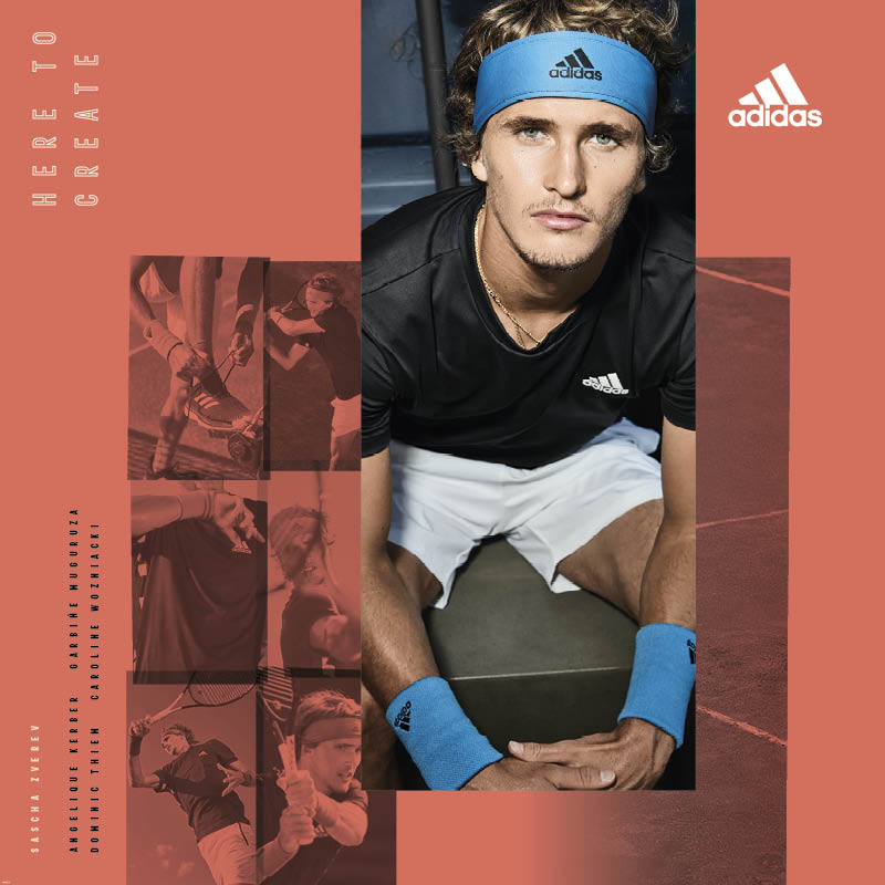 Sascha Zverev Adidas French Open Wardrobe