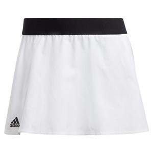Adidas Womens Escouade Tennis Skirt in White