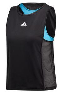 Adidas Womens Escouade Tennis Tank in Black