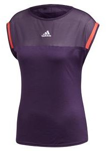 Adidas Womens Escouade Tennis Top in Legend Purple