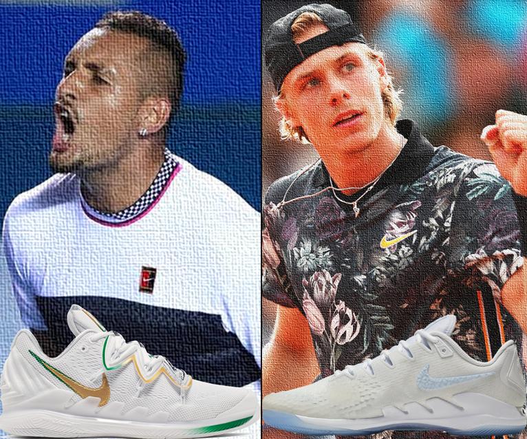 Shapovalov and Kyrgios Get New Nike