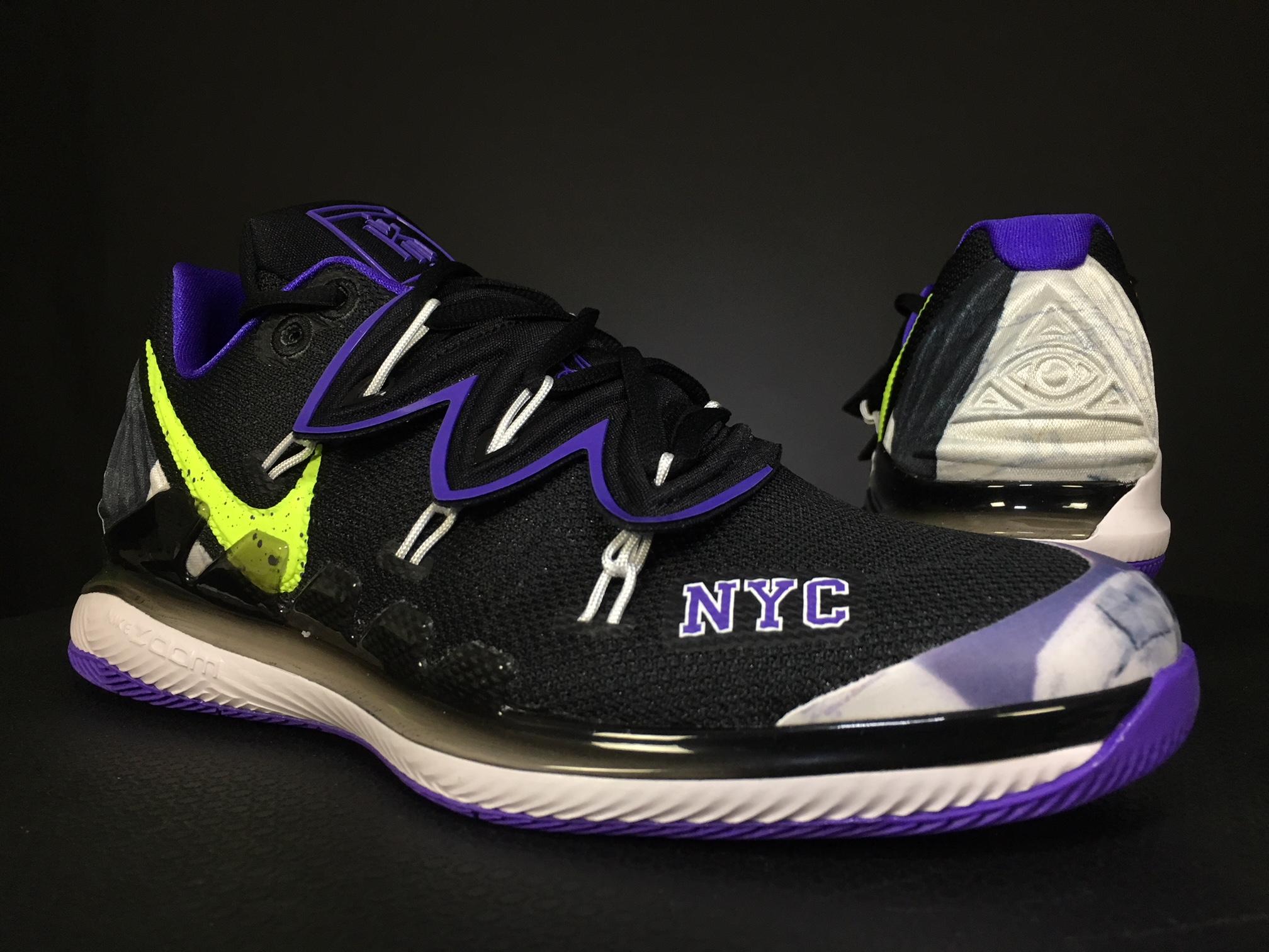 Nick Kyrgios' Vapor X Kyrie V NYC