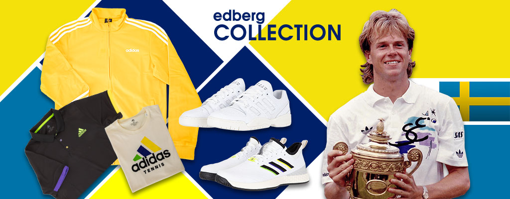 Adidas' Stefan Edberg Tennis Shoes and